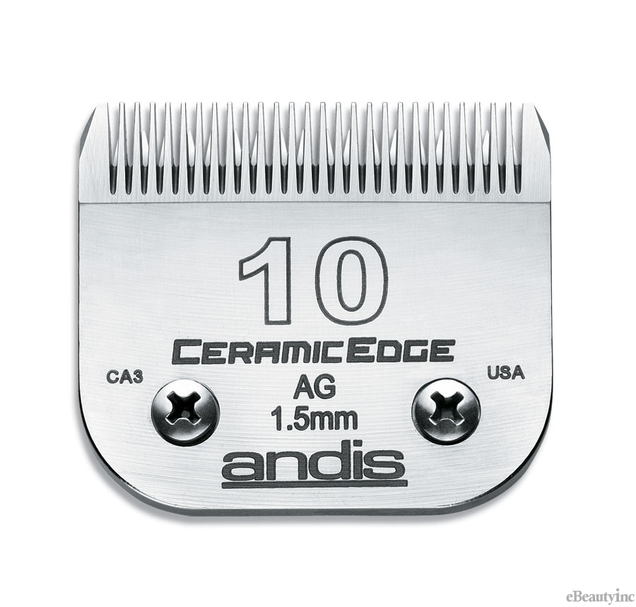 Image of Andis CeramicEdge Clipper Blade #10 Fit Oster 76 A5 - 64315