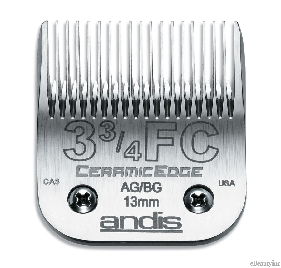 Image of Andis CeramicEdge Clipper Blade #3-3/4FC Fit Oster 76 A5 - 64435