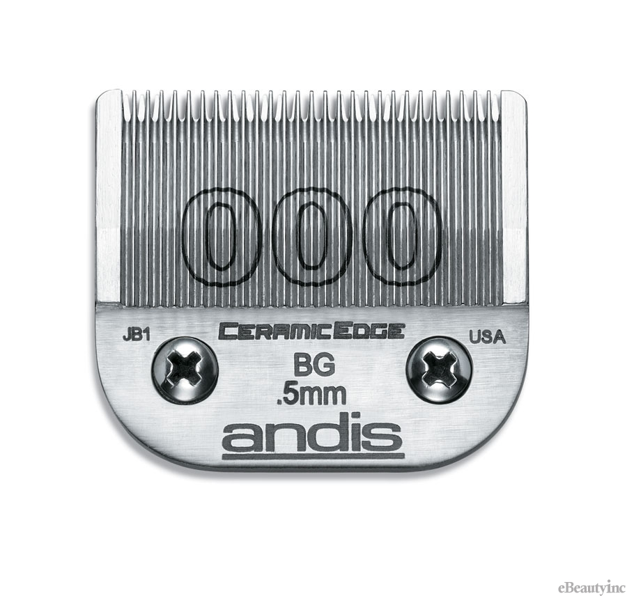 Andis Ceramic Edge Clipper Blade #000 Fit Oster 76 A5 - 64480