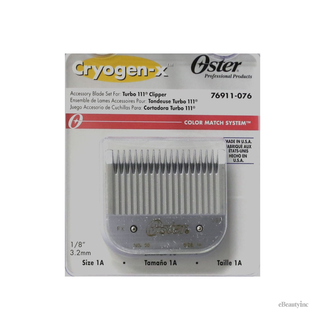 Oster Detachable Replacement Blade #1A For Turbo 111 Clippers #76911-076