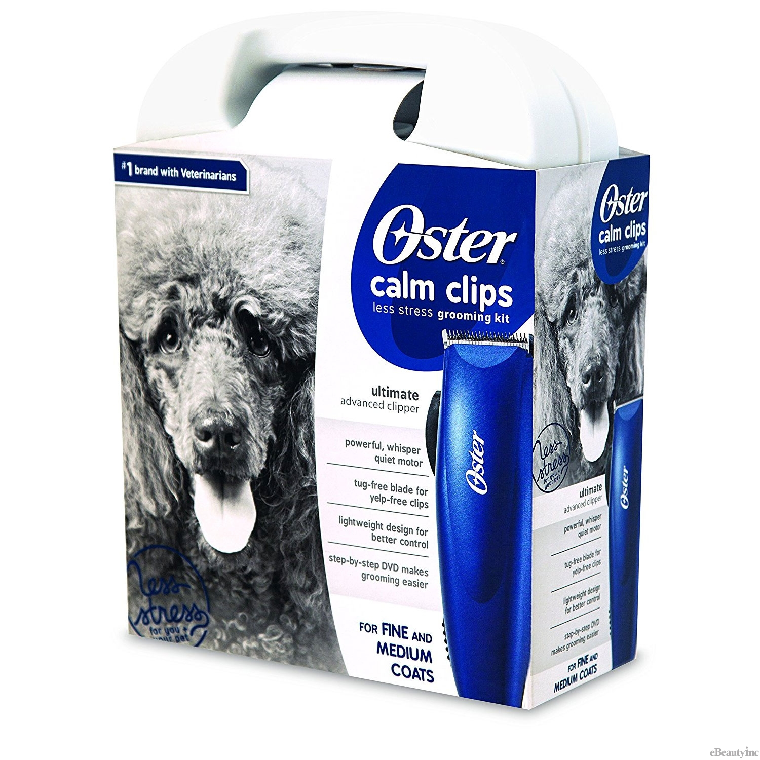 Image of Oster Calm Clips Ultimate Advanced Clipper Grooming Kit