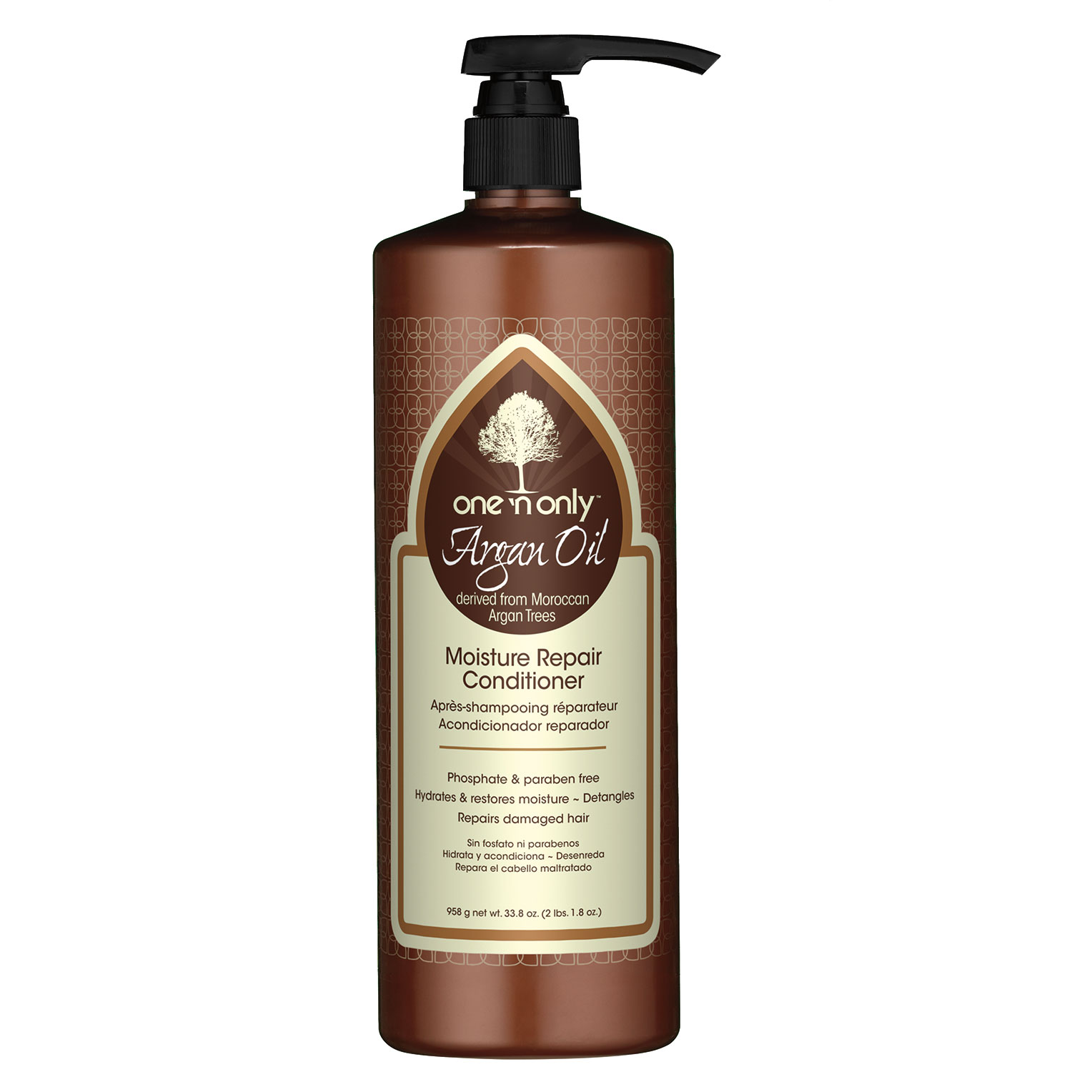 Image of One n Only Argan Oil Moisture Repair Conditioner - 33.8oz