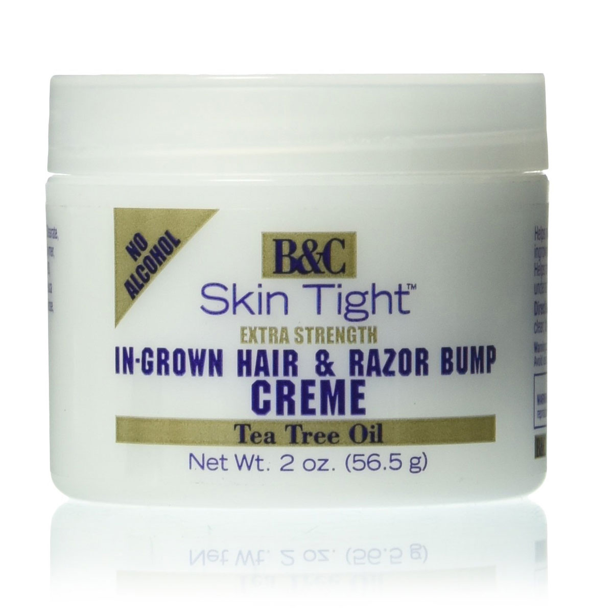 Image of B&C Skin Tight In-Grown Hair and Razor Bump Creme Extra Strength, 2oz