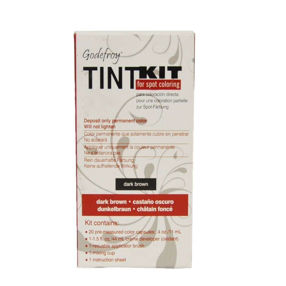 Image of Godefroy Dark Brown Tint Kit For Spot Coloring 20 Applications