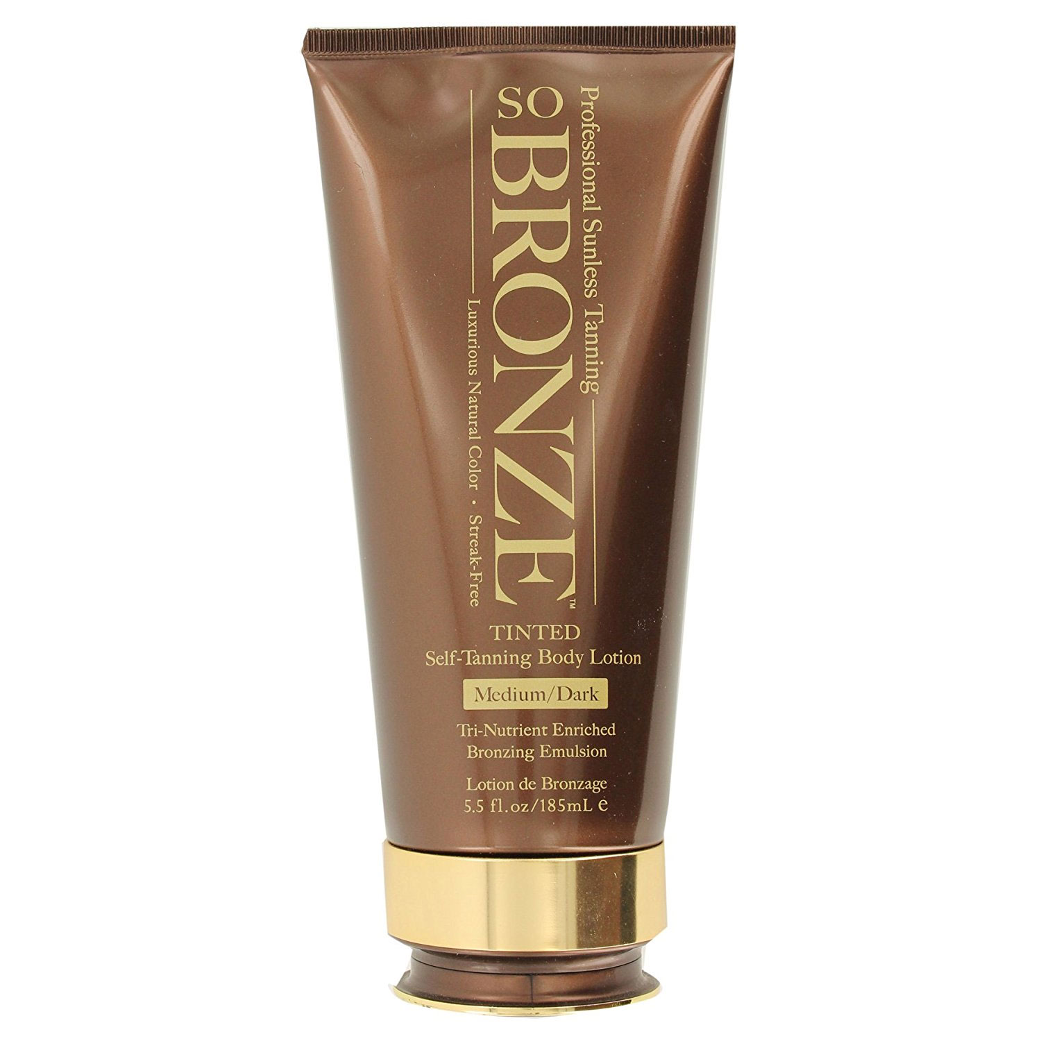 Image of Hempz So Bronze Medium/Dark Self Tanning Body Lotion - 5.5oz
