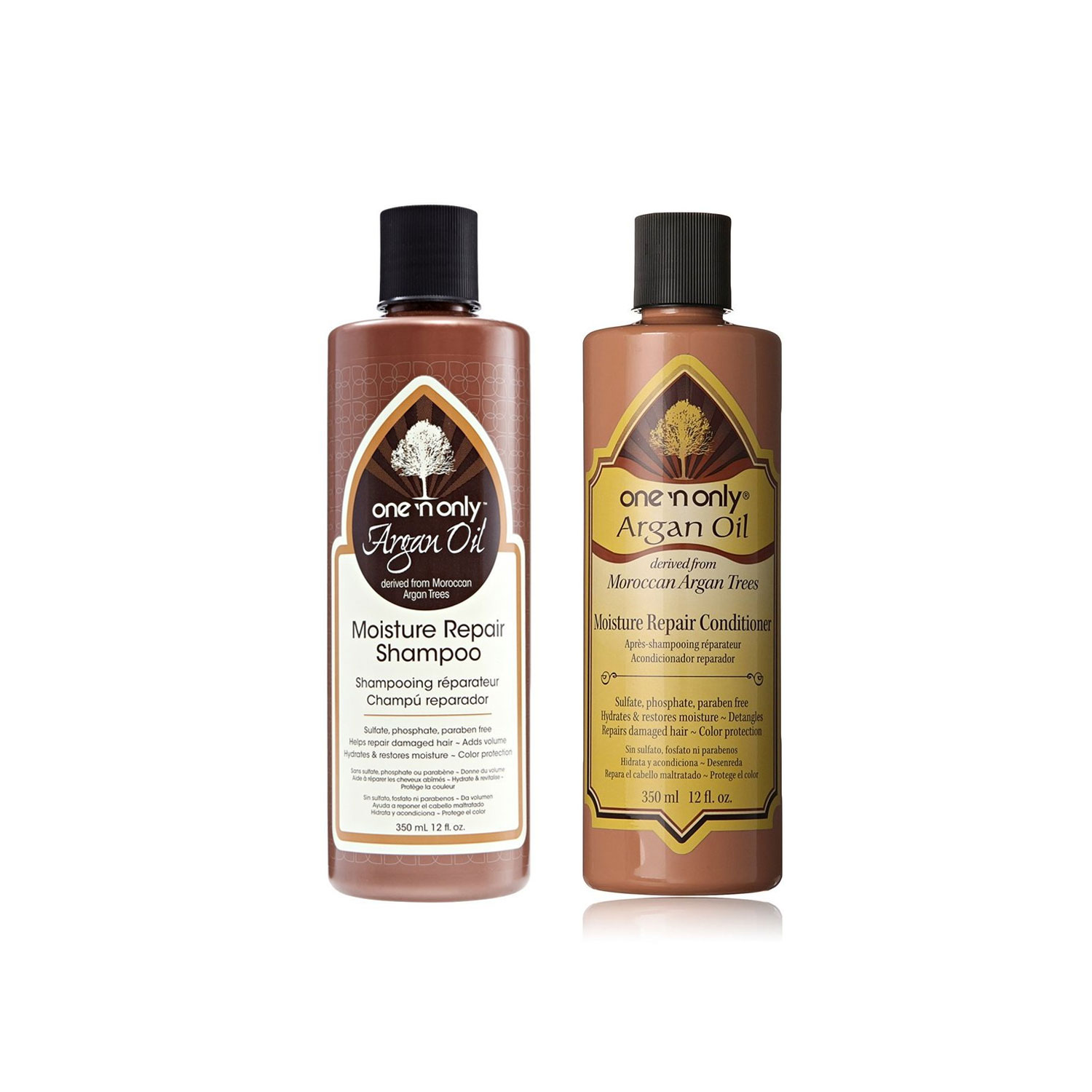 Image of One n Only Argan OIL Moisture Repair Shampoo & Conditioner Set, 12oz