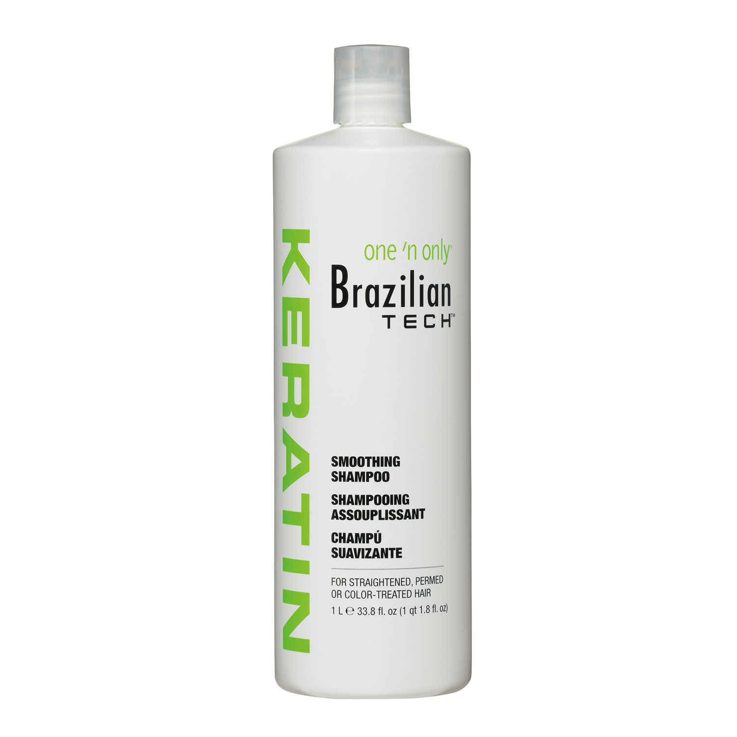 Image of Brazilian Tech Keratin Smoothing Shampoo - 33.8oz