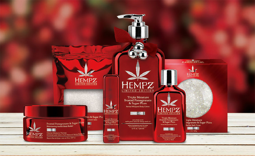 LIMITED EDITION : HEMPZ TRIPLE MOISTURE FROSTED
